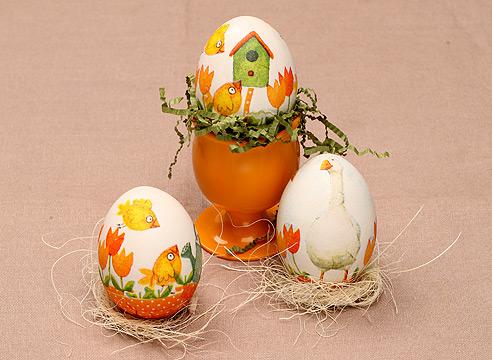 Пасхальное яйцо с ребенком