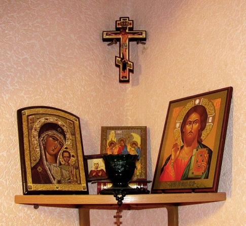 Как сделать в доме место для молитвы